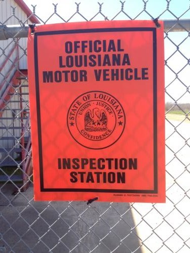 Louisiana Trailer::Official Louisiana Motor Vehicle Inspection Station