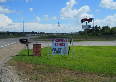 Propane sales & one and two year inspections